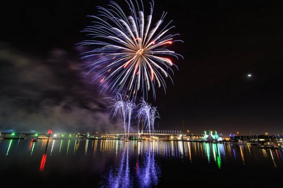 Photographing Docklands fireworks: top tips for great shots