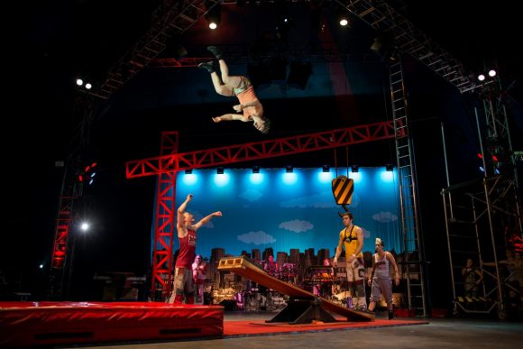 Circus Oz Big Top bonanza