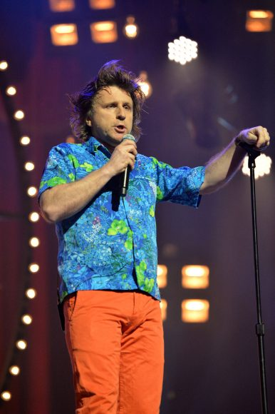 Milton Jones: A day in the life of a comedian