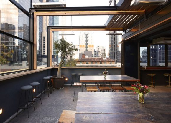 Great rooftop bars and balconies