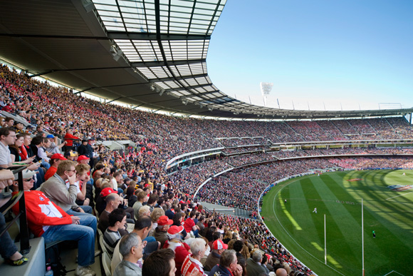 Crowd at the MCG
