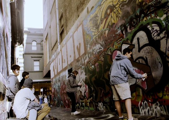 Melbourne: a canvas for street art