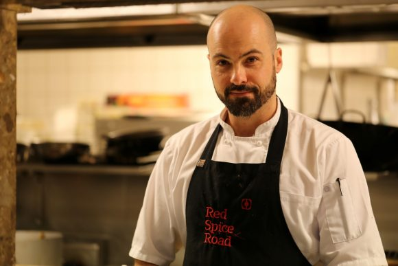 Noah Crowcroft, Head Chef at Red Spice Road