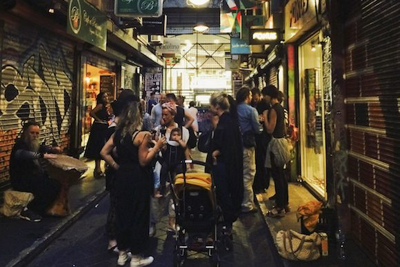 Shop, dine, dance Melbourne's laneways for Christmas Shopping Night