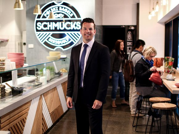 Schmucks Bagels – schmeared with a smile