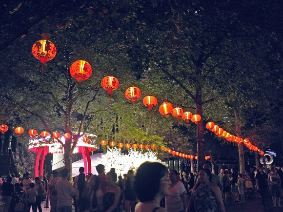 Chinese New Year lights up the city