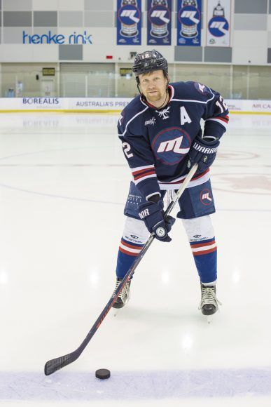 Meet Tommy Powell of the Melbourne Ice