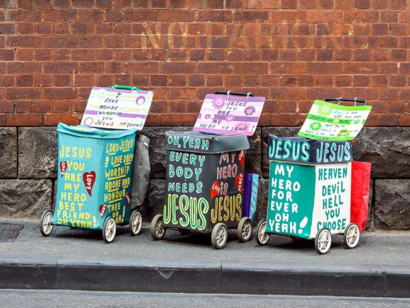 The Jesus Trolley