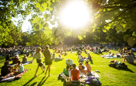 Fitzroy Gardens serves up live music and dance