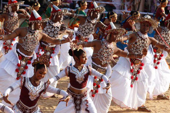 Dance performers at Lankan Fest