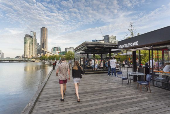 Melbourne's waterfront dining