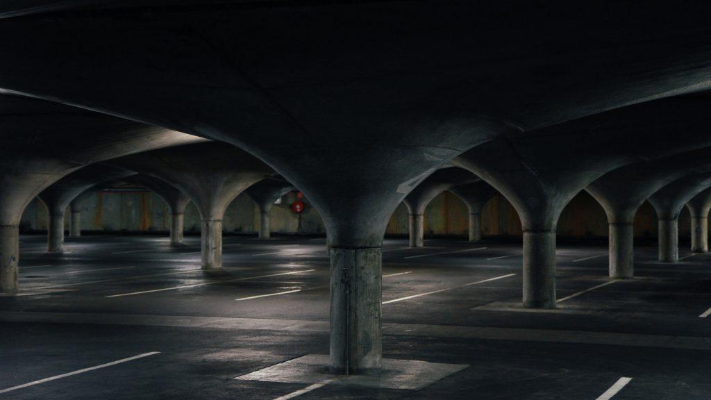 Image of an empty underground carpark