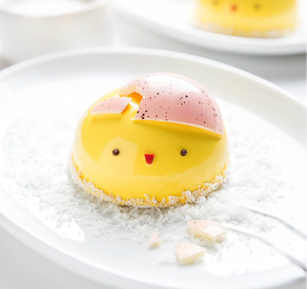 Nine easter treats you need to try city of melbourne whats on blog a dessert sitting on a plate the dessert has been designed to look like a negle Gallery