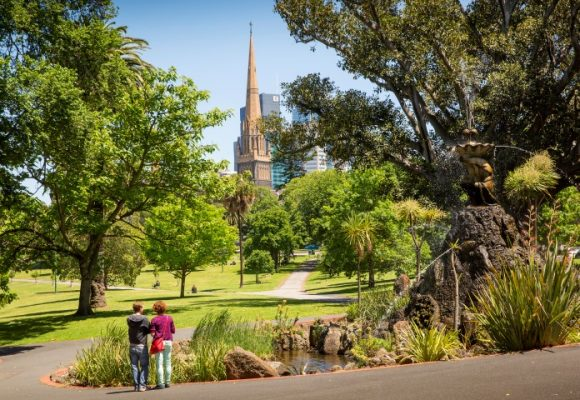 A guide to exploring Fitzroy Gardens