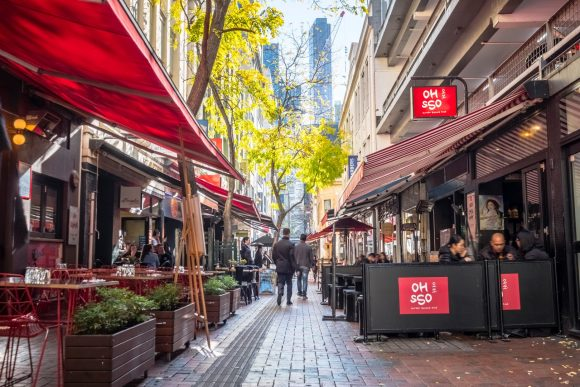 Melbourne laneways: Guide to Hardware Lane, part 1
