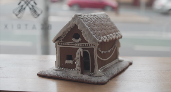Gingerbread house from Beatrix