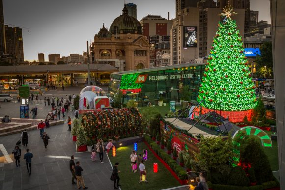 Guide to Christmas lights and decoration hotspots |City of Melbourne ...