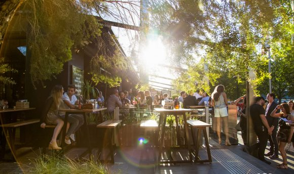 Beer gardens to visit in Melbourne this summer