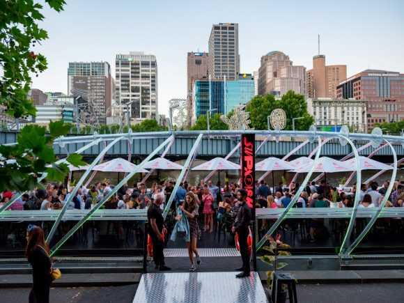 Summer pop-up bars in Melbourne