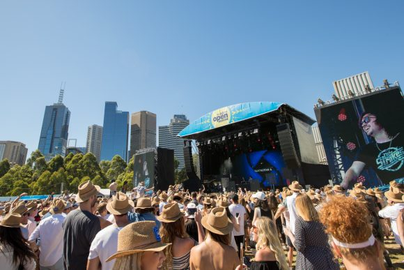 Melbourne's hot summer music events