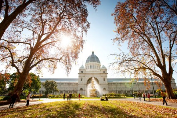 Autumn walks in Melbourne