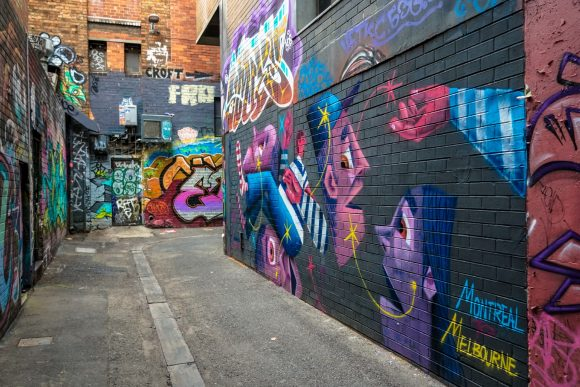 Street art guide to Melbourne
