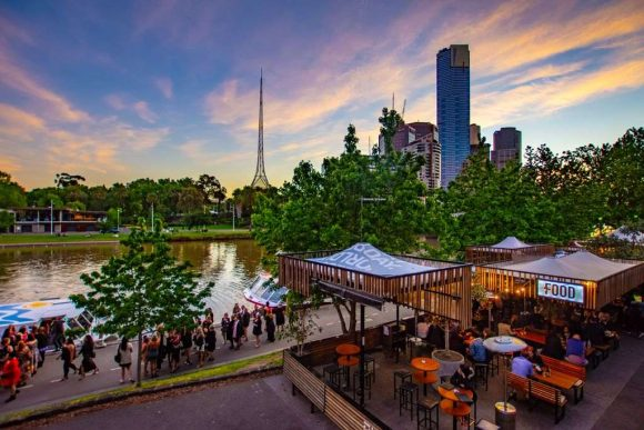Best outdoor dining in Melbourne
