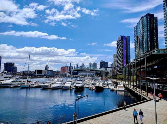 Docklands shines in summer