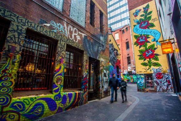 Your guide to ACDC Lane and Duckboard Place