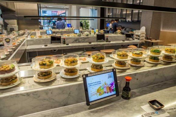 Sushi train restaurants in Melbourne