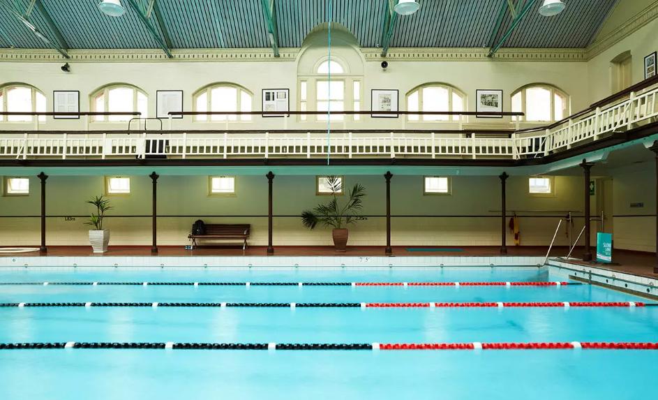 Melbourne City Baths pool