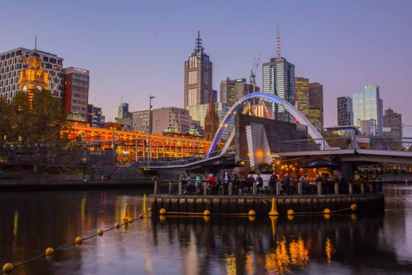 10 Melbourne bars with beautiful views
