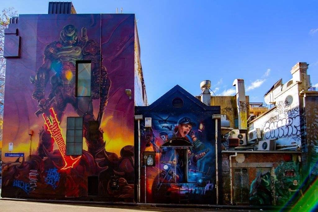 Mesmerising lane way to capture incredible artwork