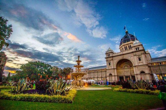 Carlton Gardens and Royal Exhibition Building