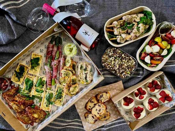 Melbourne's best picnic hampers